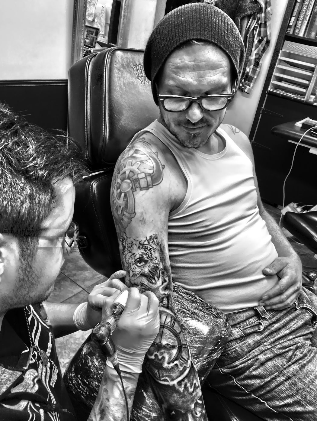One More Tattoo Black And White Miguel Ameliach Luxembourgtattoo Tattoo Tattooed Inked Realistictattoo Besttattoo