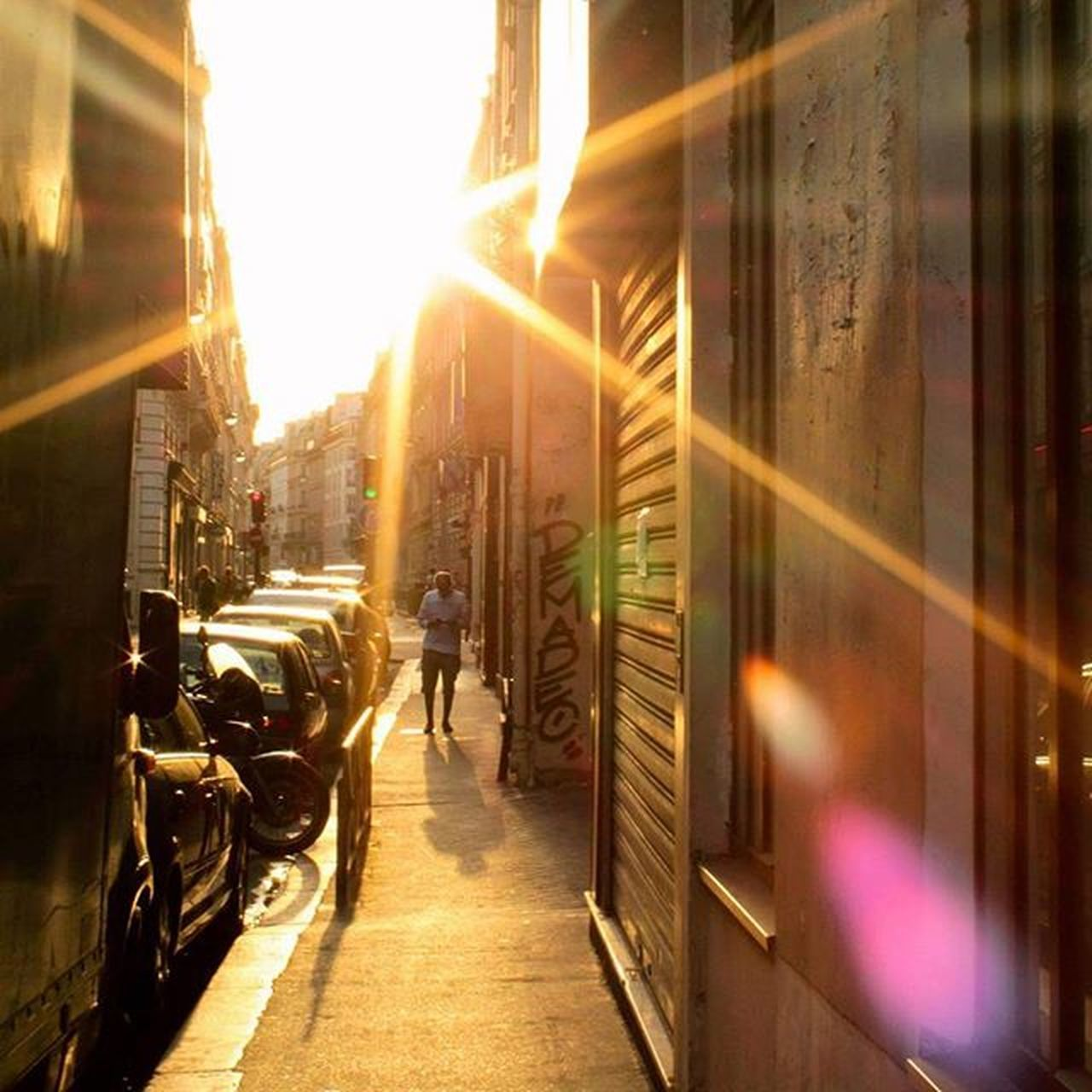 Luz du paradis Paris Photooftheday Contrejour Light contrast colors street photoshoot