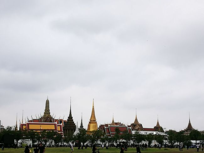 The palace that he lie down for the last time. My greatest King. City Travel Destinations Tourism Architecture Horizontal King King Of Thailand Grand Palace Bangkok Thailand