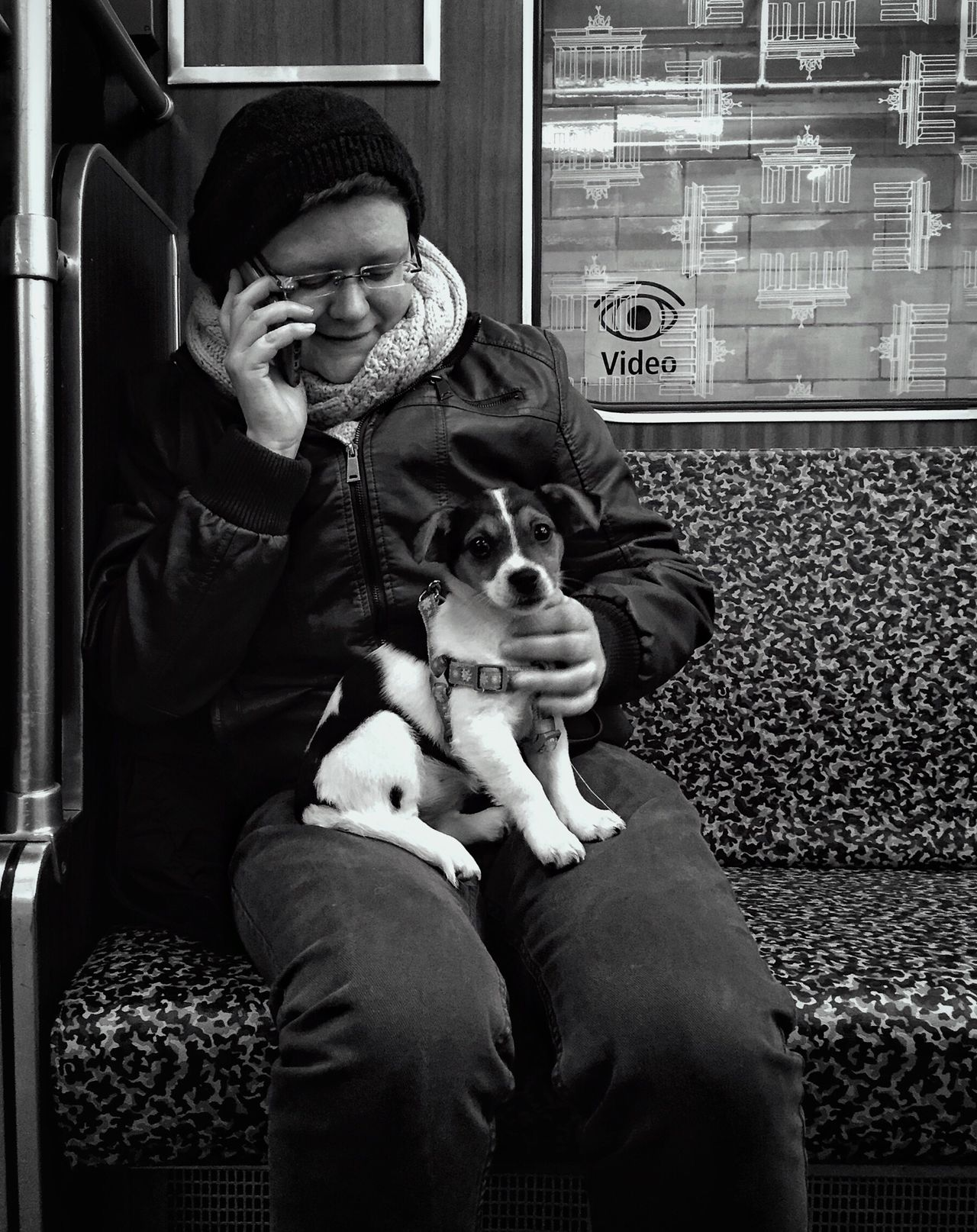 StreetPortraits Streetphotography Public Transportation Berlin Myfuckingberlin Blackandwhite Bnw Mpro Iphone6 Mobilephotography