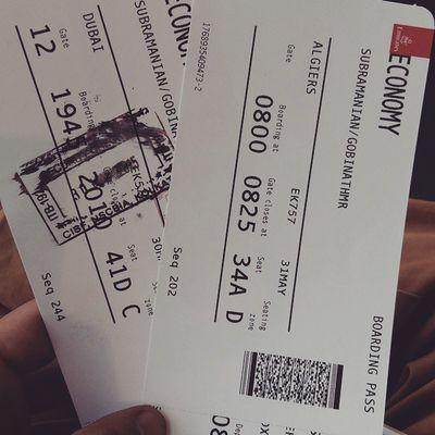 Bye bye India ..miss u kamal Anna Asap I will catch u in Blore my bro Coimbatorepayan Emirates Flyingtoalgeris Byeindia Feelingalone