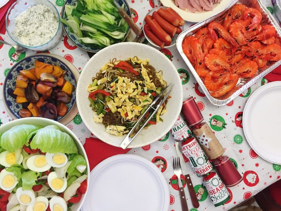 Christmas Around The World | Christmas Lunch Feast In My Mouf Food Coma Too Much Food