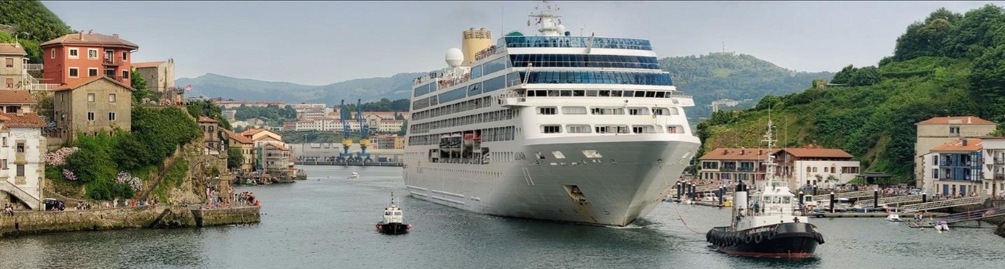 Transantlantic I Love My Country Bilbao Algorta Port North Of Spain BasqueCountry