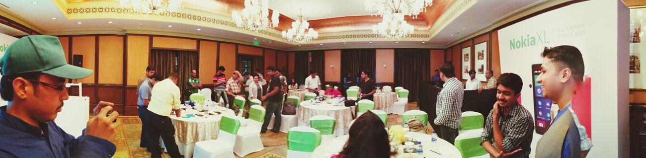 A while ago at Go Nokia XL Nexus5 Panorama