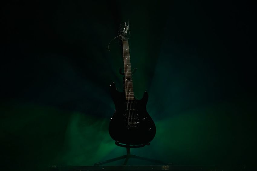6 Strings Arts Culture And Entertainment Black Background Blues Close-up Colors Concert Electric Guitar Festival Season Fog Guitar Ibanez Illuminated Indoors  Jazz Music Light And Shadow Music Musical Instrument Musical Instrument String No People Rock Music Saxophone EyeEmNewHere