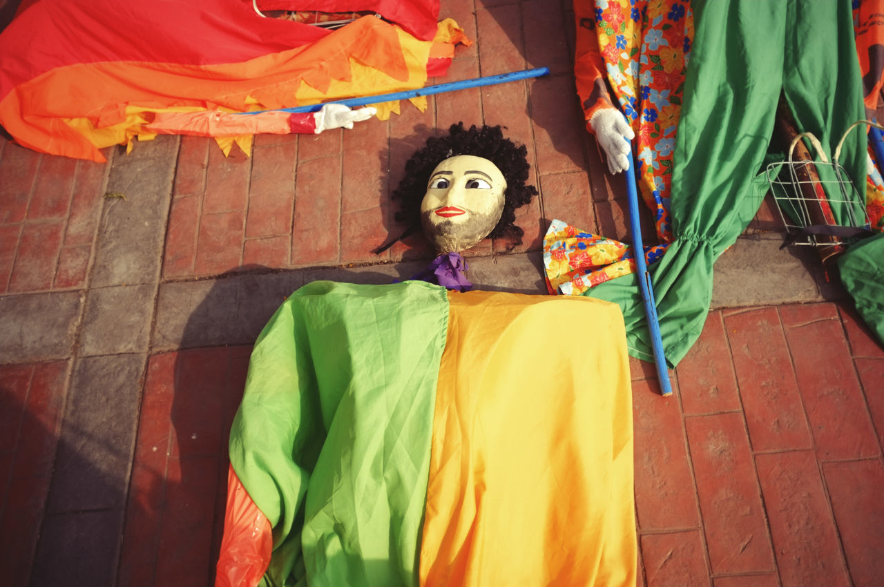 Ready Carnival Crowds And Details Carnival Celebration Colorful Cultures Fiesta Giant Green Color Lifestyles Multi Colored One Person Puppet Yellow