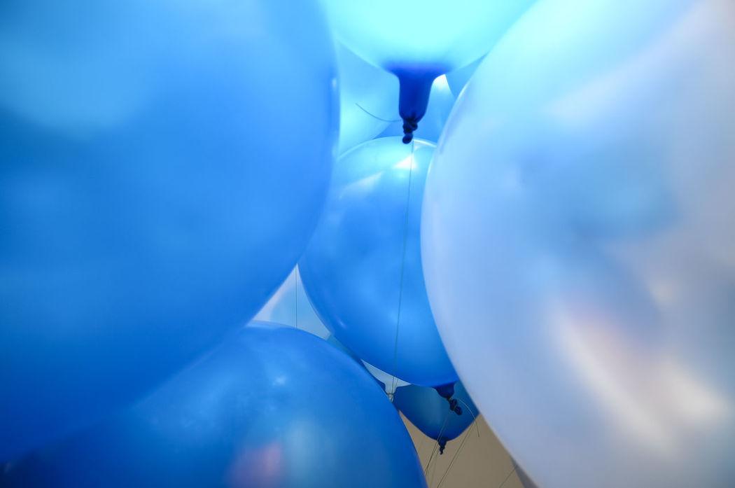 Blue Ballons Art ArtWork Balloons Blue Blue Balloons Close-up Man Made Object Nikon No People Part Of
