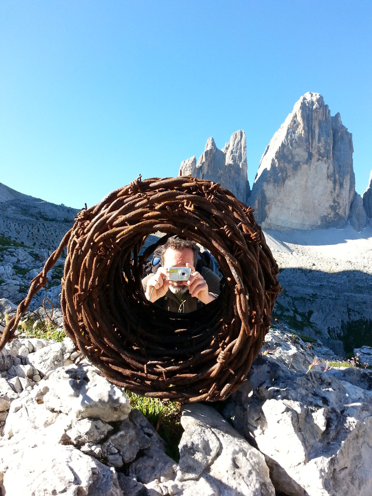 Dolomites, Italy Tre Cime Di Lavaredo Ww1 Colors Nature Mountain Colors