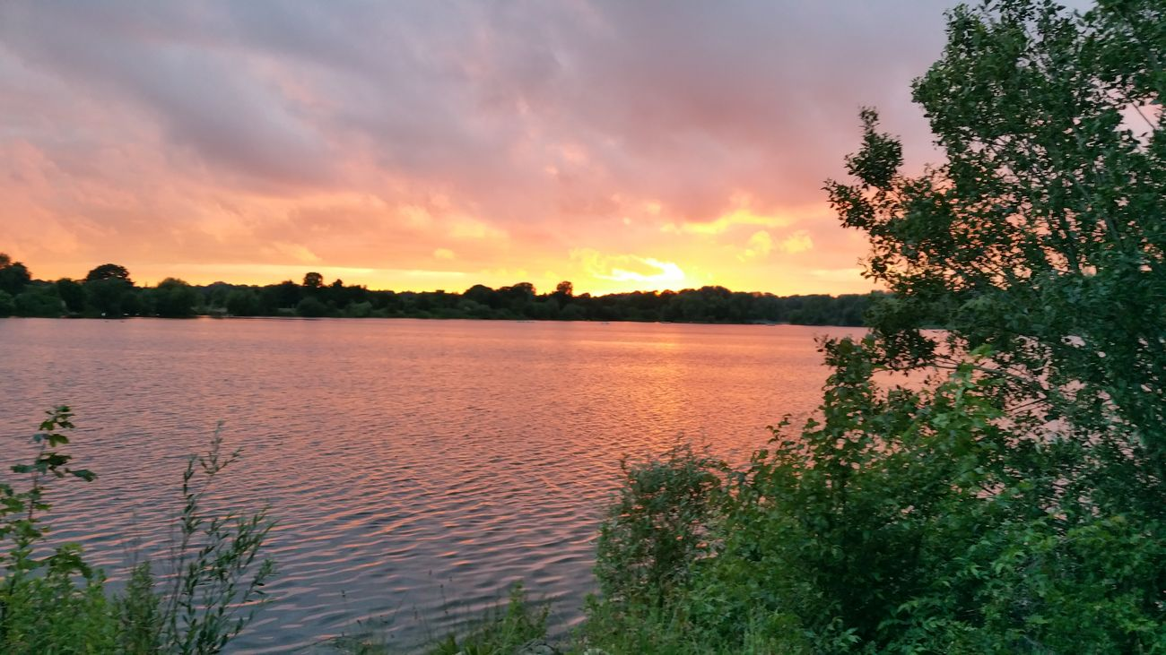 Sunset Water Beauty In Nature Peaceful First Eyeem Photo
