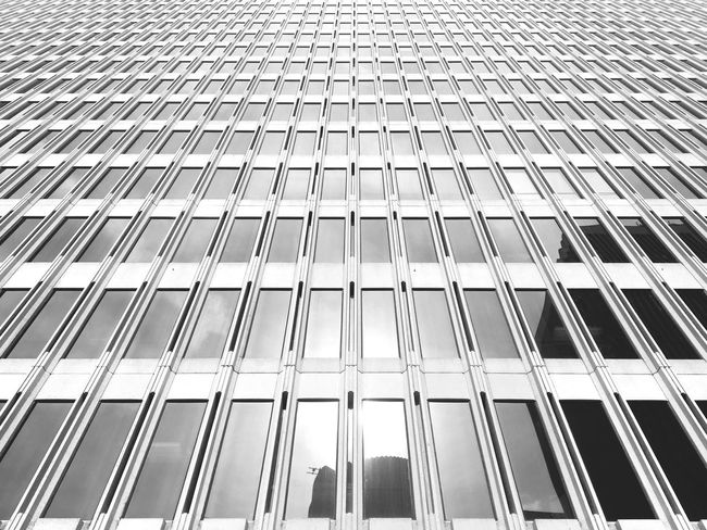 Architecture Building Exterior Low Angle View Built Structure Modern Tall - High Infinity ∞ Office Building In A Row Full Frame Day Outdoors Architectural Feature Sky Tall Façade No People Diminishing Perspective Office Block Tagged By EyeEmVision
