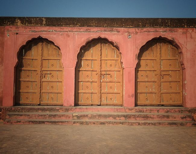 Door Arch Architecture Outdoors Day No People King - Royal Person