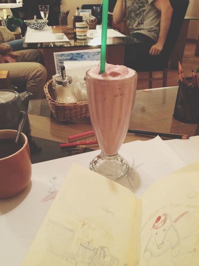 Milkshake Strawberries