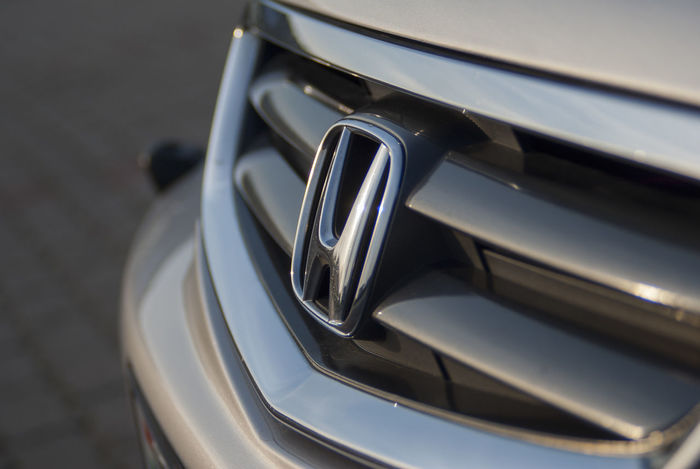 Car Close-up Grill Honda Honda Accord Honda Badge Hondaaccord Transportation