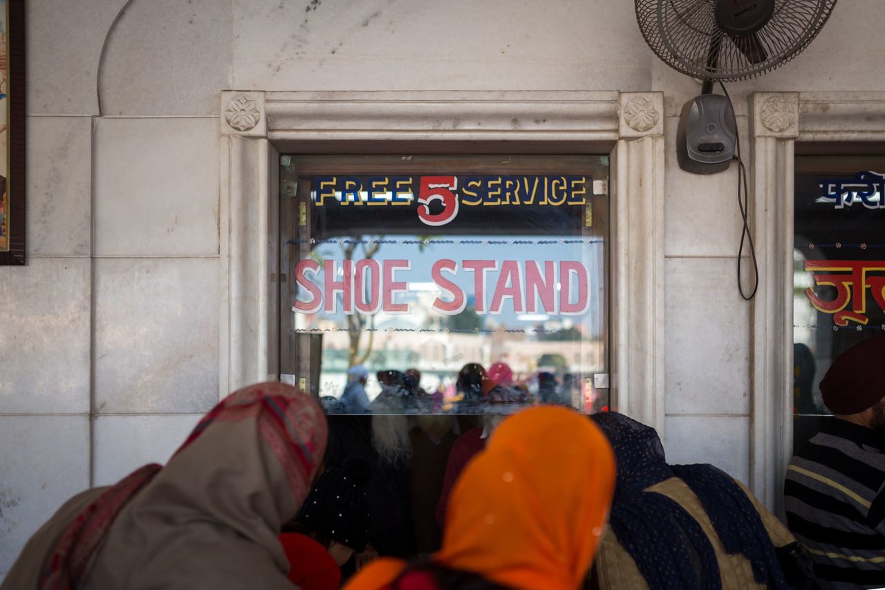 One of the several shoe stands in front of the Golden Temple in Amritsar 5 Amritsar Barefoot Golden Golden Temple India No Shoes Number Number 5 Punjab Sahib Shoe Shoe Stand Shoes Sikh Sikh Temple Socks STAND Temple Tourist Attraction  Travel Destinations Worship