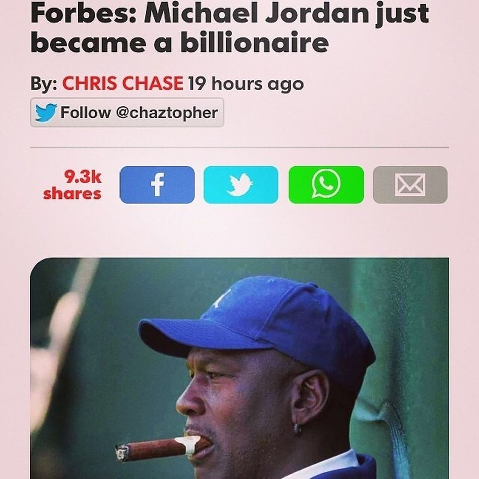 Congrats to Michael Jordan for becoming a billionaire this year! Billionaire  Mj Michaeljordan Luxury Lavishliving Luxuryliving Yrflifestyle