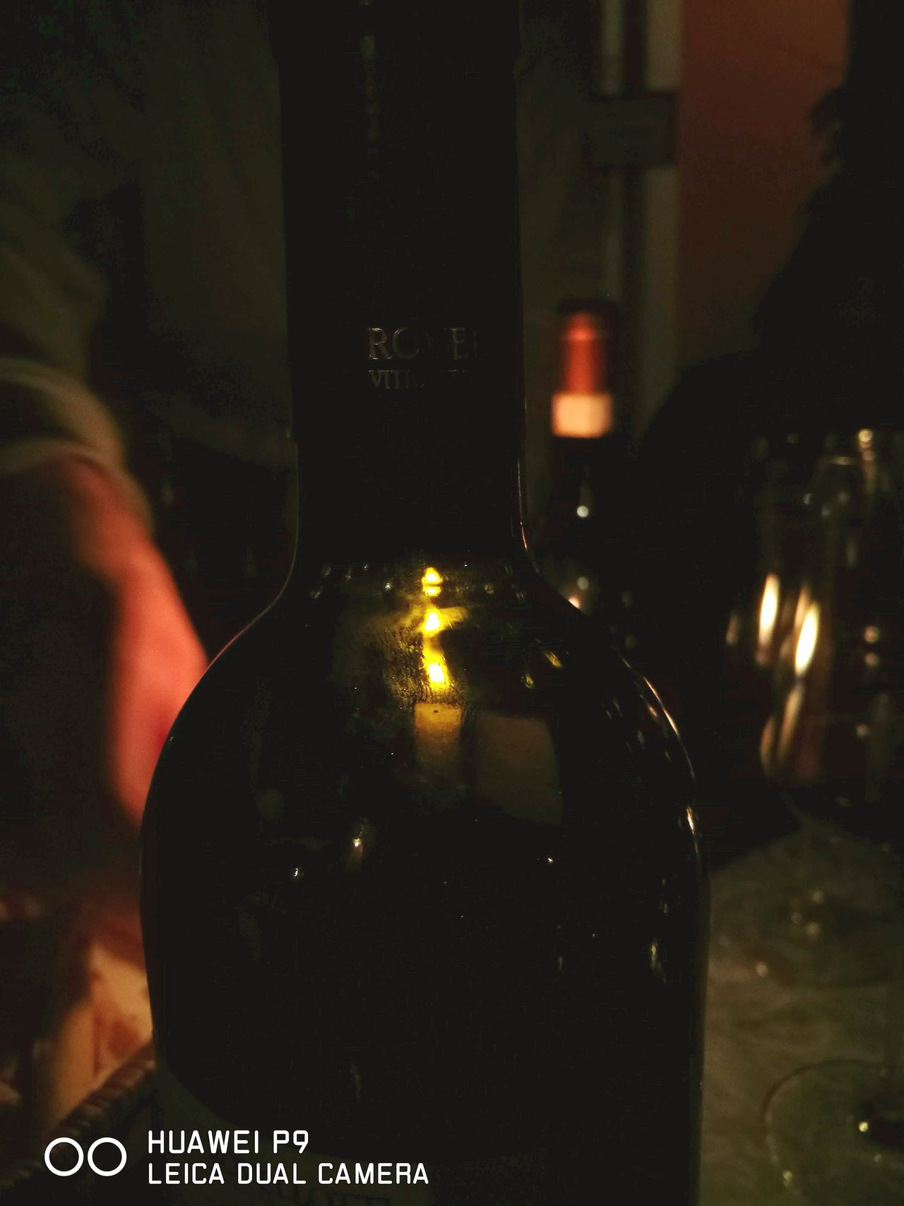 Wine Moments Wine Tasting Wine Bottle Rovellotti Candlelight Close-up HuaweiP9 Leicacamera