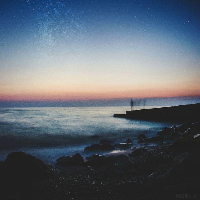 -near the sea- Romadalen Sea Seascape Landscape Landscape_photography Photography Sundown Photo Eyeam Photo