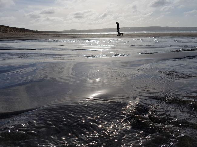 Beach Seaside Dog Walker Cornwall Samsungphotography Samsung Galaxy S7 Edge