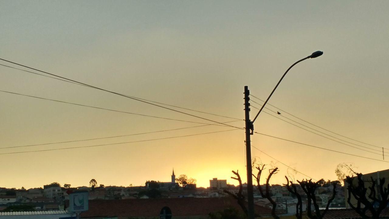 Fim De Tarde Em SP Sunset Day End Day