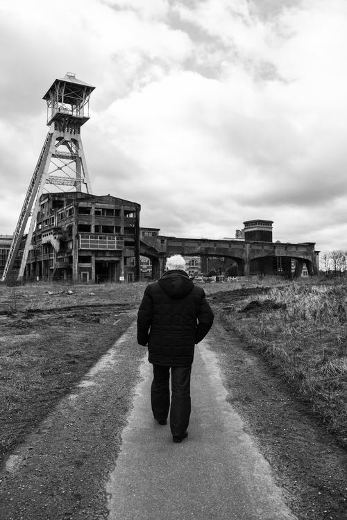 Coal Mine Coal Mining History Coalmine Mine Old Man Old Man Walking Old Memories Walking Walking Alone... Walking Around