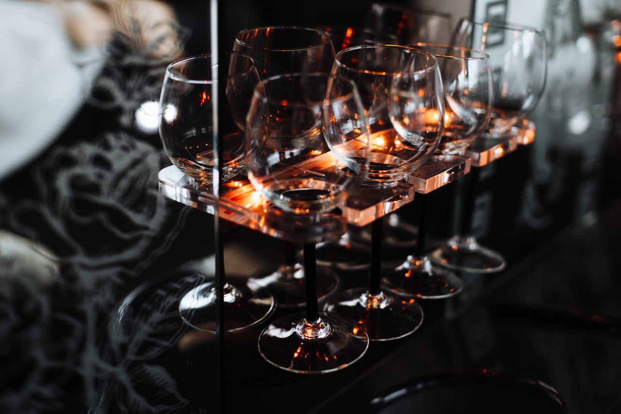Burning Close-up Flame Food And Drink Heat - Temperature Illuminated Indoors  Light Light And Shadow Wine Wineglass