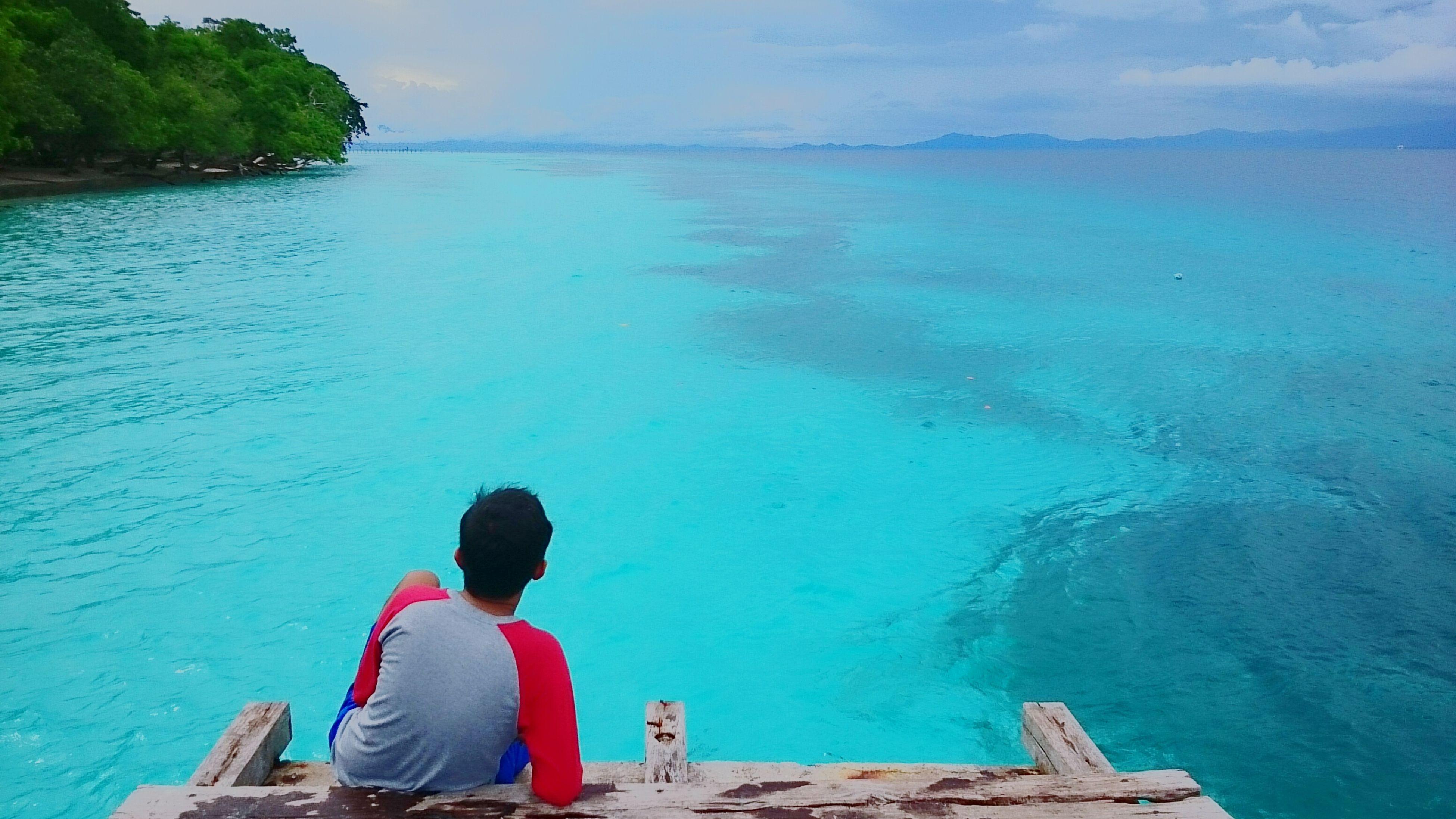 Beach Nature Blue Indonesian Ambon