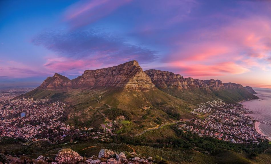 Beautiful stock photos of sonnenuntergang, Beauty In Nature, Cape Town, City, Cloud - Sky