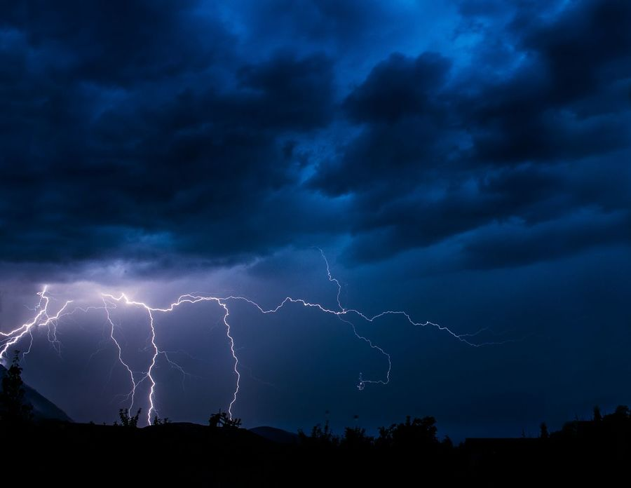 This is the power of nature Thunderstorm Lightning Mountains EyeEm Best Shots Hanging Out Taking Photos Nature Check This Out Freedom Landscape