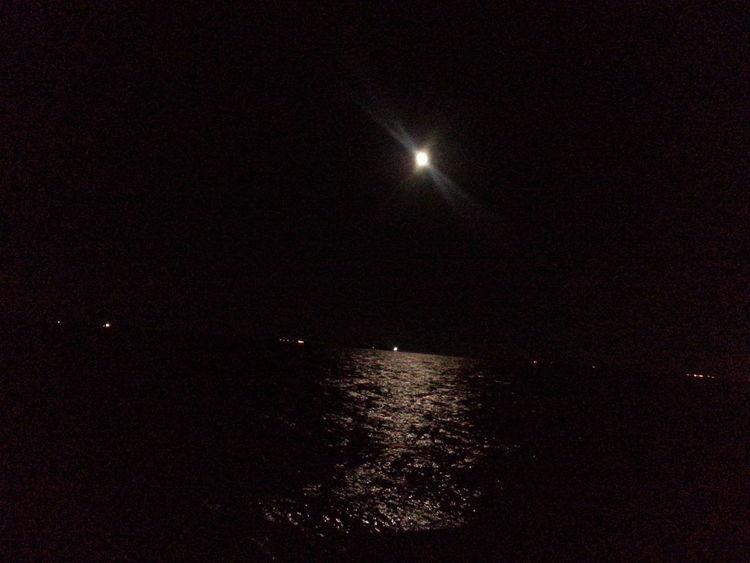 Aljubail Moonlight Sea