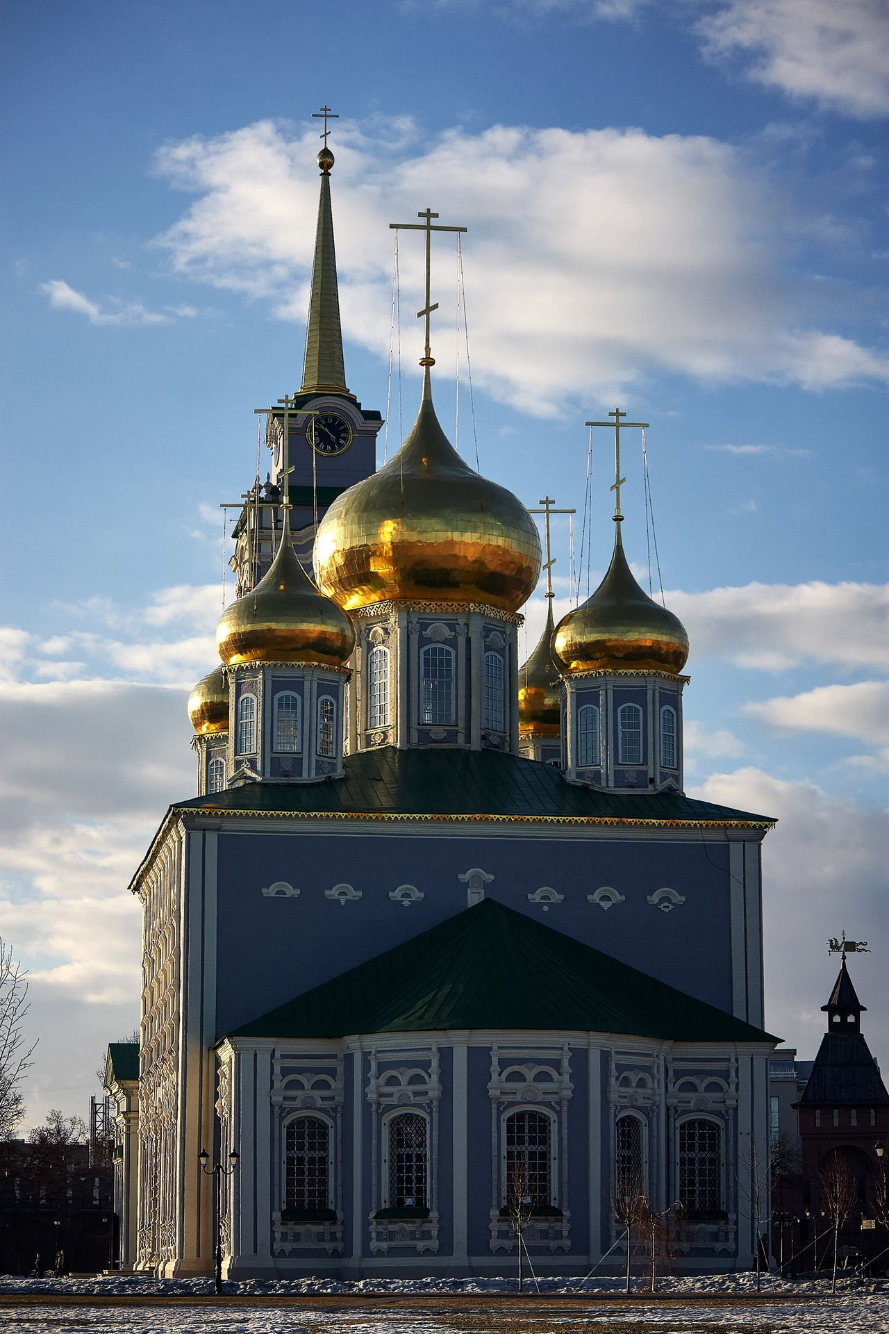 Russia Church Temple Day Cultures Gold Spirituality Gold Colored Religion Sky Architecture Cloud - Sky Spirituality