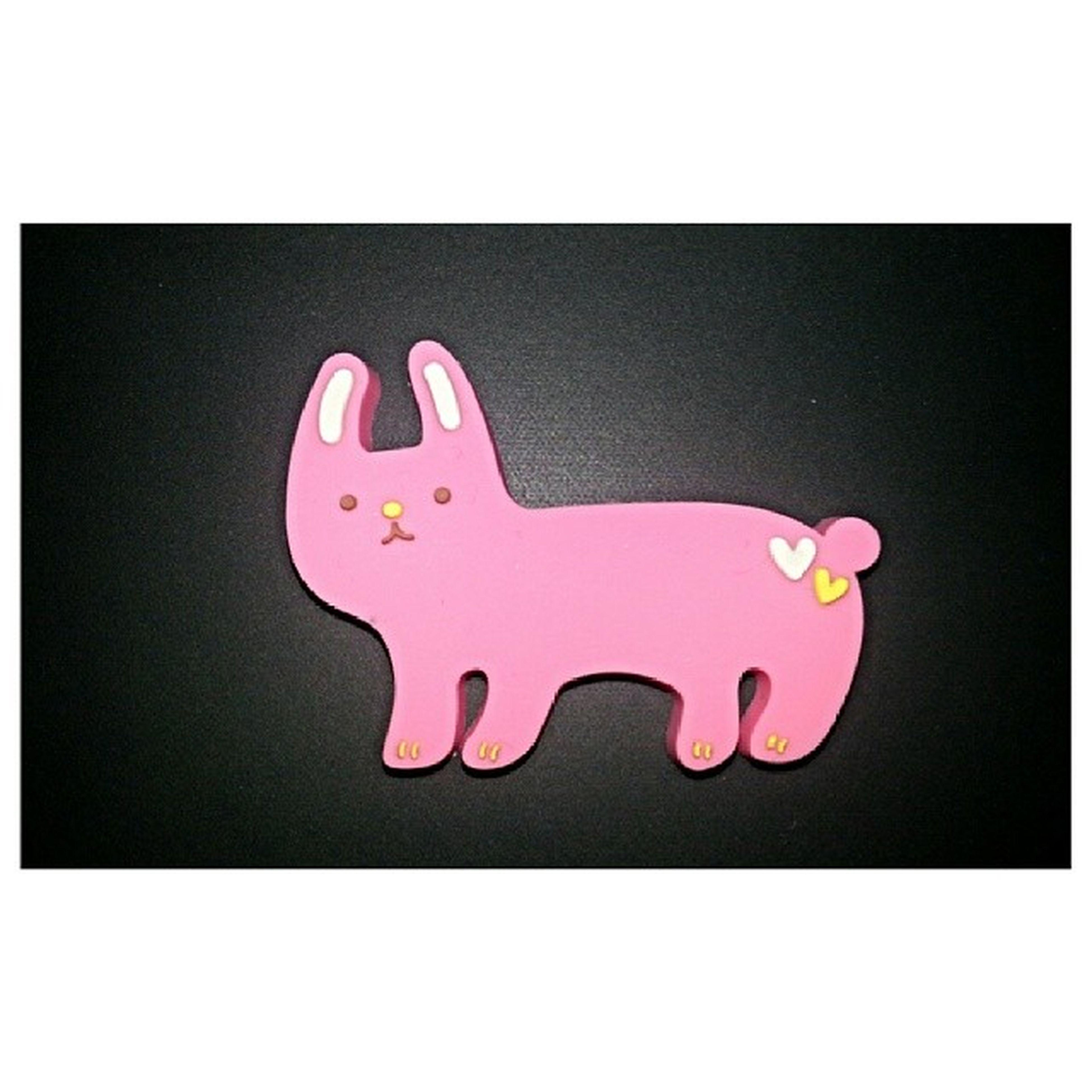Is this a cat??? A dog??.. still cute!! Thanks! Dikomagets Cuteness Pink Heart cat dog