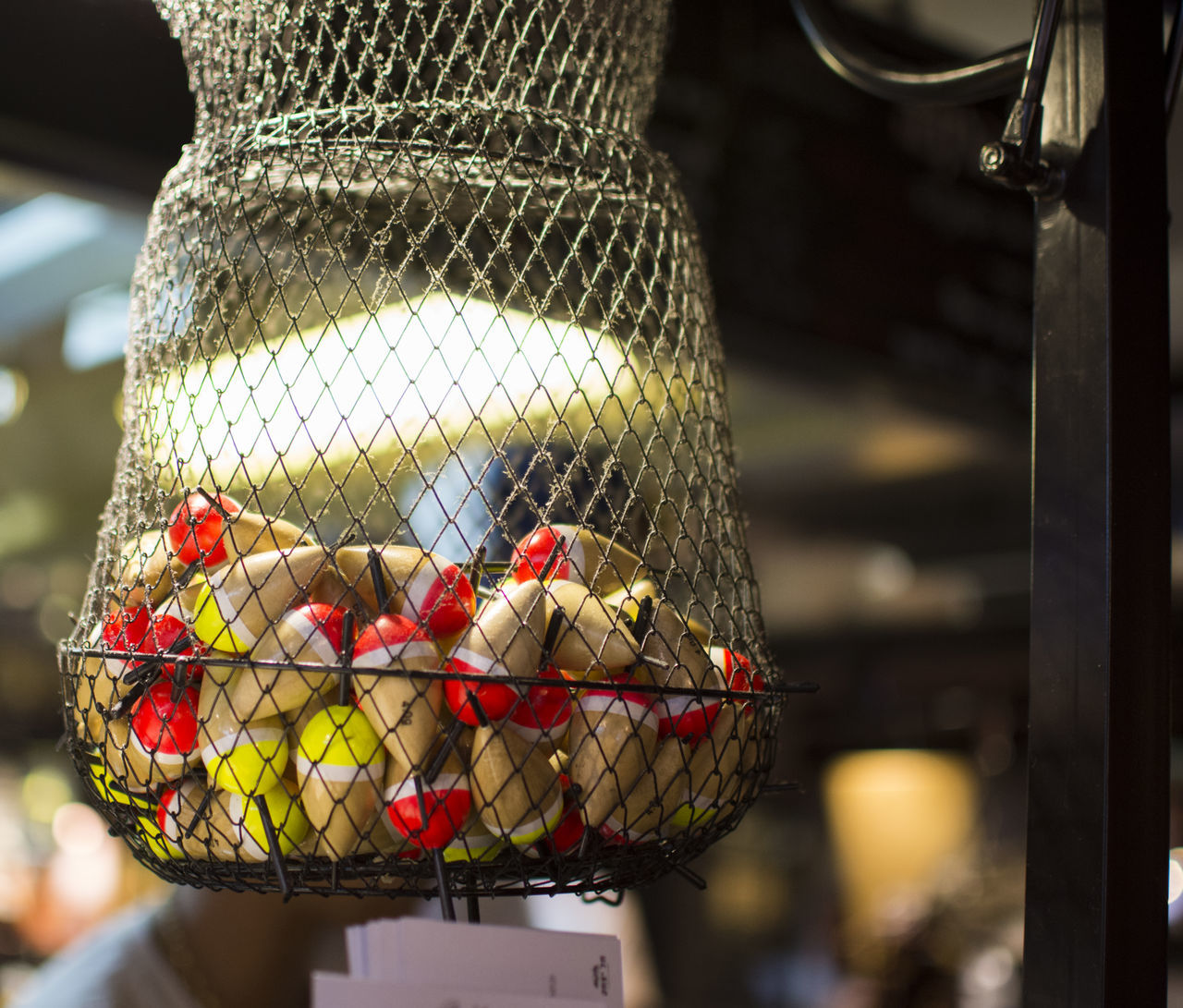 Lights Basket Close-up Day Fish Pond Focus On Foreground Food Freshness Indoors  Market Stall Neon Life No People