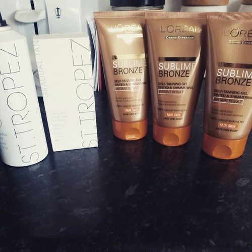 Well i certainly wont be pasty again for a few weeks ? Tanheaven Tan StTropez Lorealsublime i?u rollonsummer
