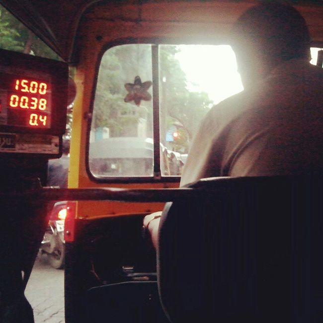 Photography MumbaiDiaries Every Mumbaikar Daily Modeoftransport Autorickshaw Mumbaiautorickshaw 2014