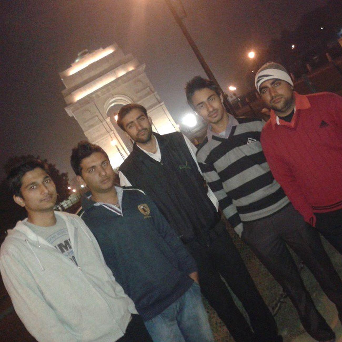 TBT  Last Year Jannuary India Gate Newdelhi
