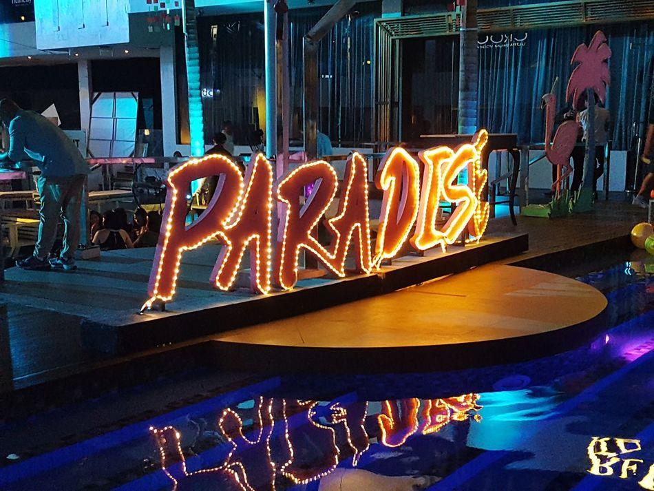 Night Travel Illuminated Annual Event Neon Christmas Decoration Nightlife Gambling No People Outdoors Paradise Neon Lights Neon Sign Neonlight Neon Light EyeEmNewHere