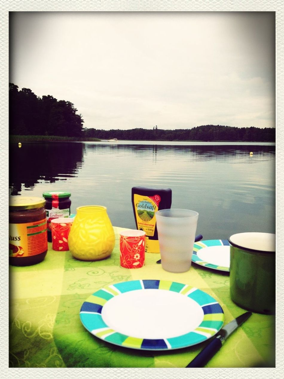 Breakfast Camping Lake View Enjoying Life My Favorite Breakfast Moment
