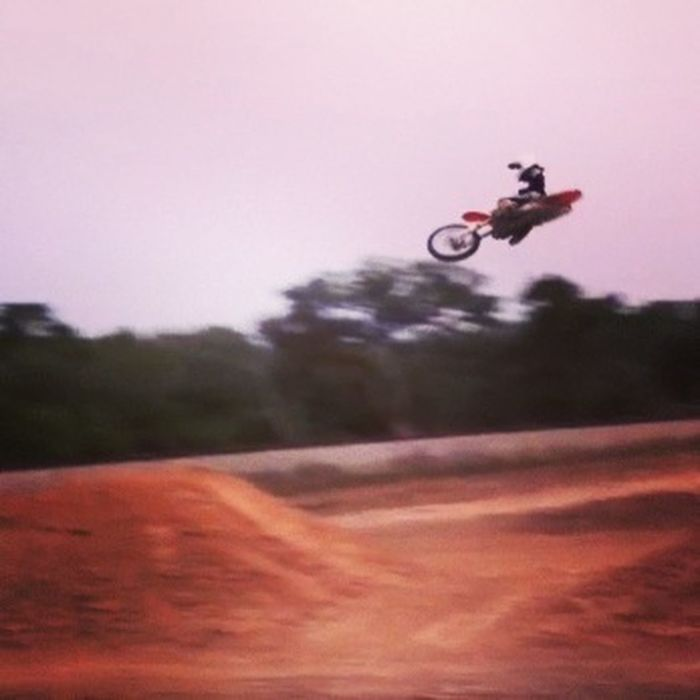 Put in some good Motos today at the house