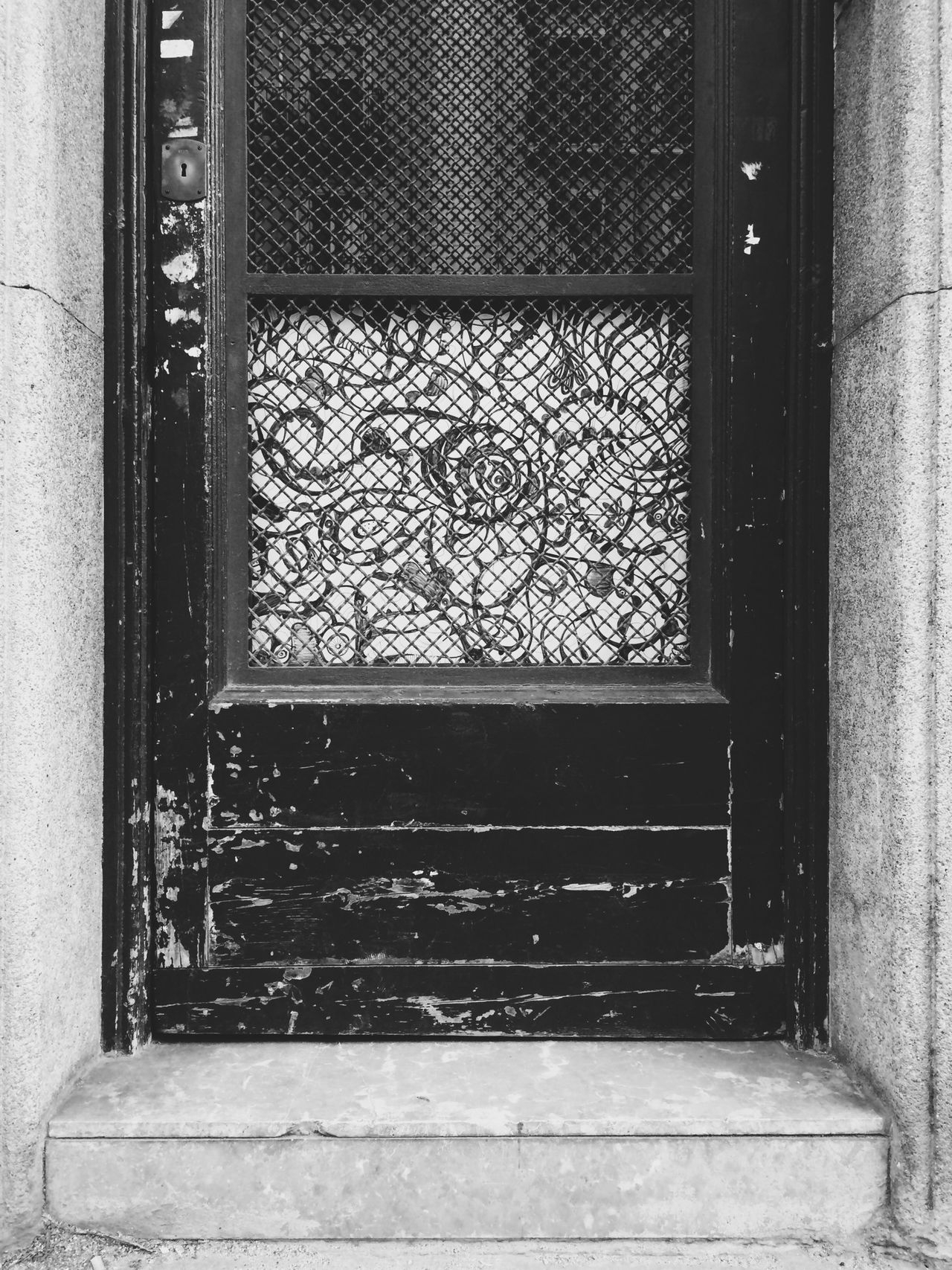 Doorart Door Art Blackandwhite