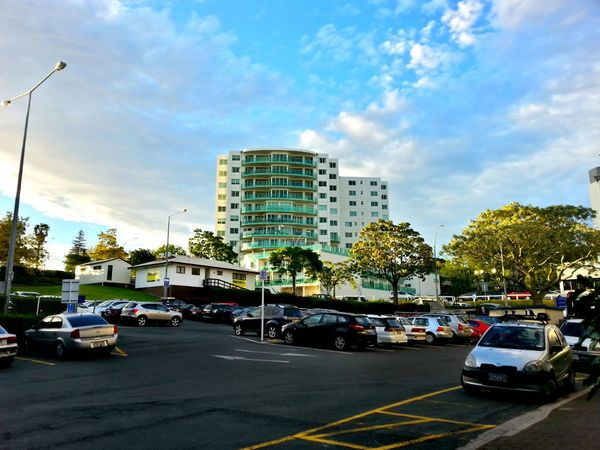 Downtown Tauranga. City Life New Zealand Architecture