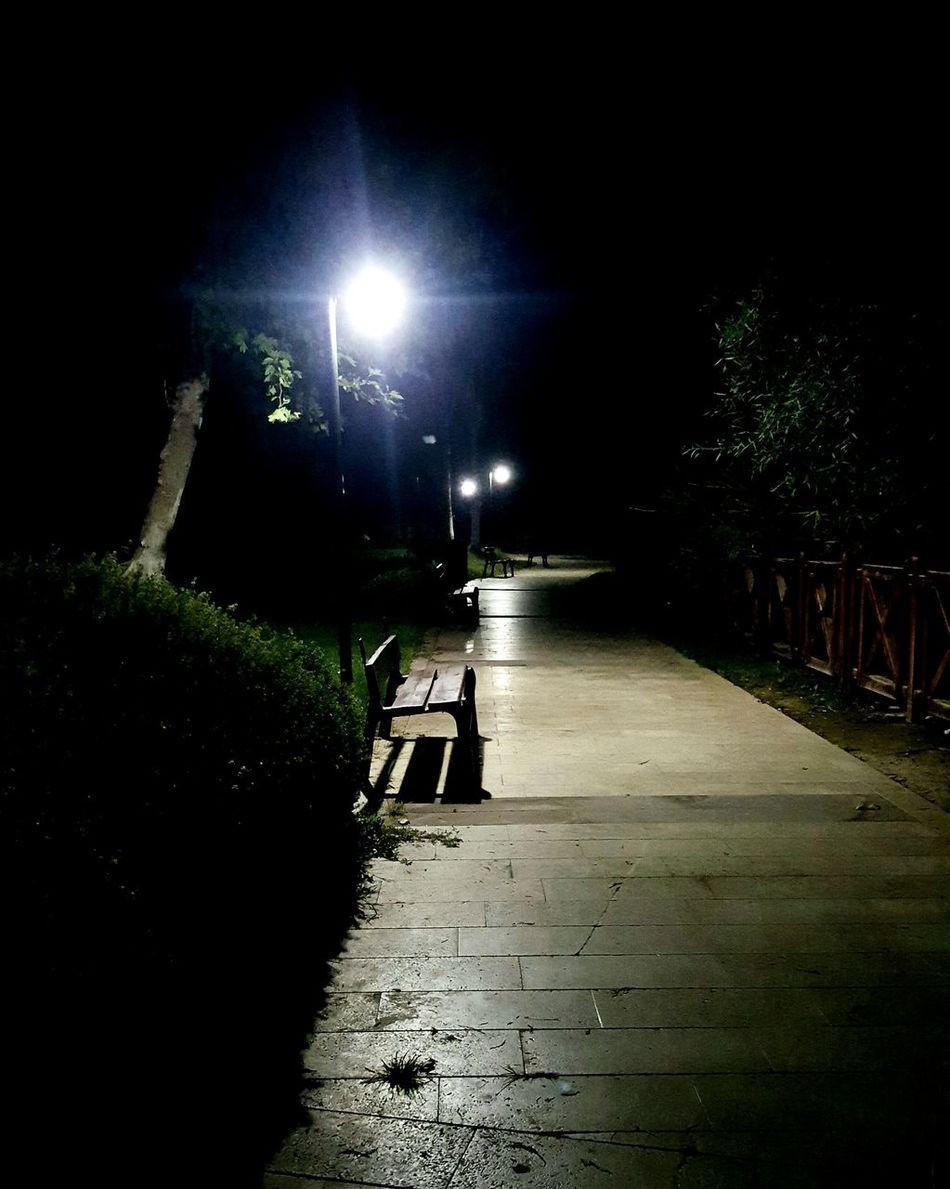 Düdenpark Gece Gece Yürüyüş