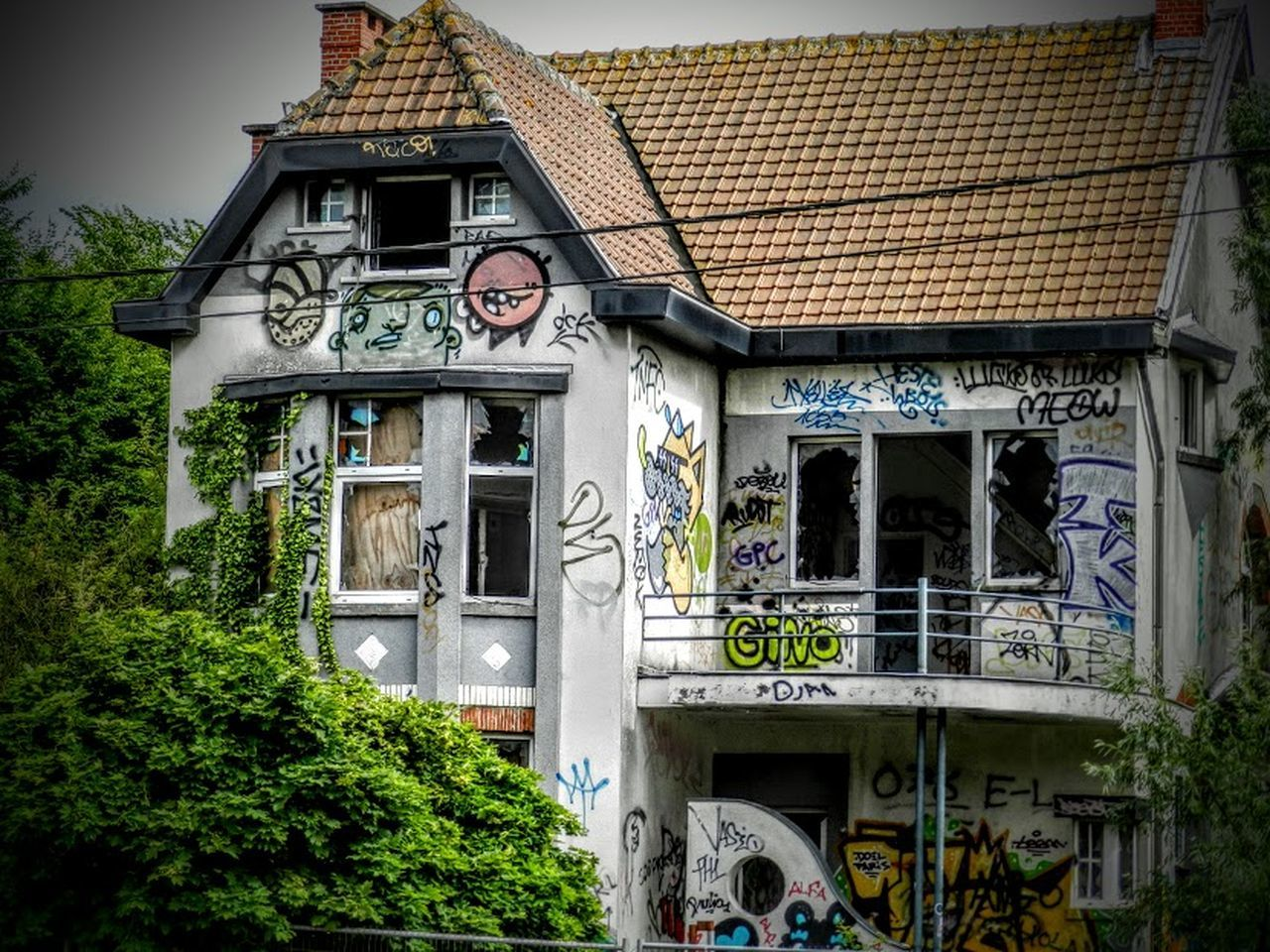 Abondened Places Abondonedcity Architecture Doel Graffiti No People Outdoors Urban Urbanplace