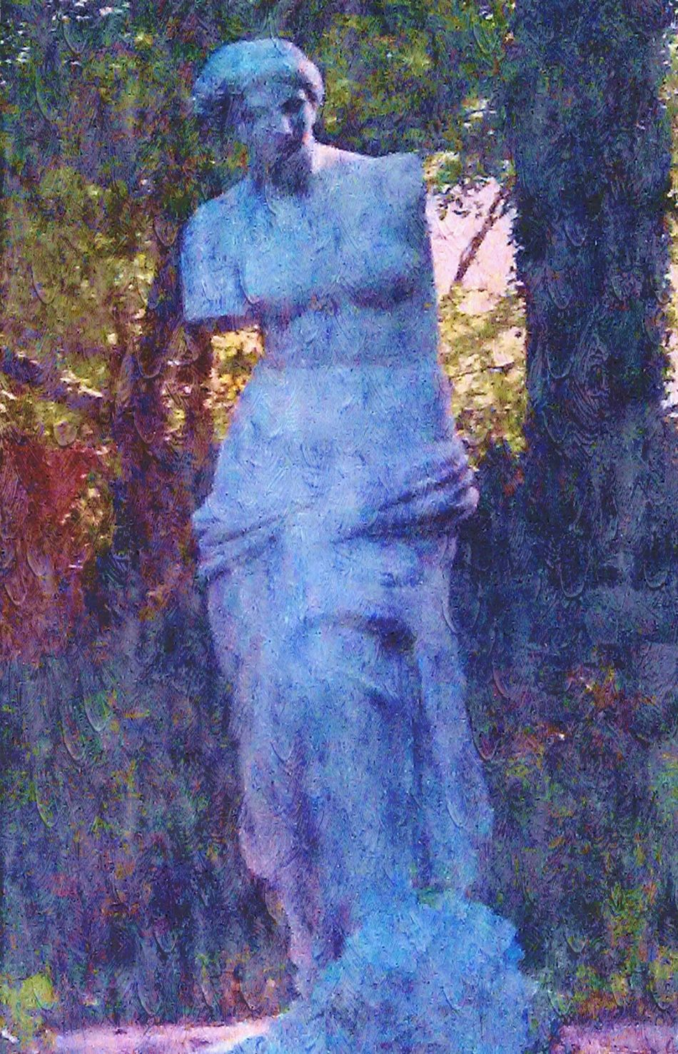 Jasmine Hill Gardens Azelia Gardens Gardenscapes Stone Statue Wetumpka, AL Venus Check This Out Photo Editing Oil Painting Photograph Showcase: February Things I Like