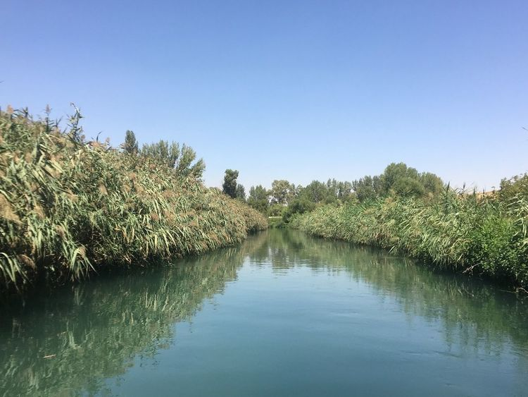 Reflection Lake Water LiveLoveLebanon Bekaa Valley Assi River