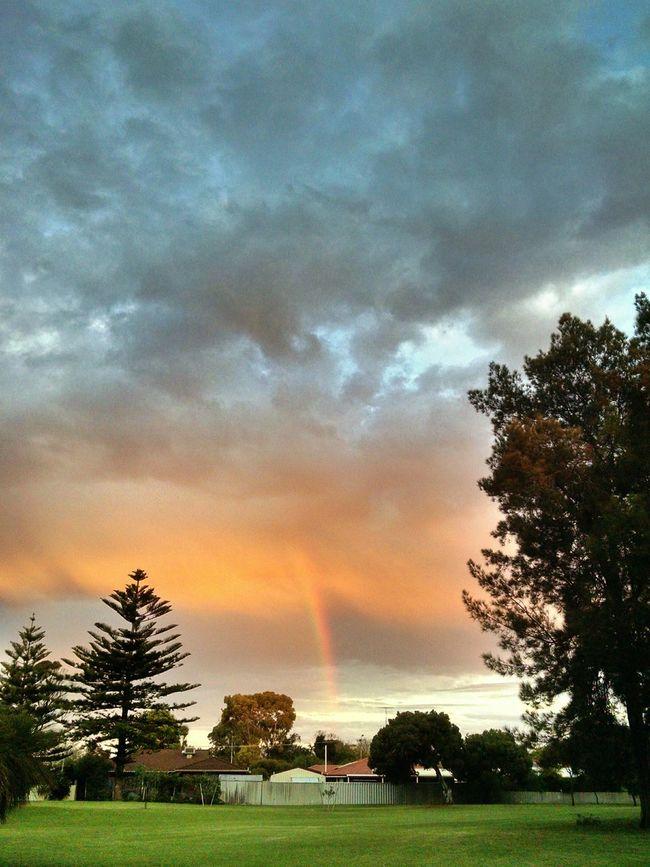 In Australia Tornado s come in the form of Rainbow s.