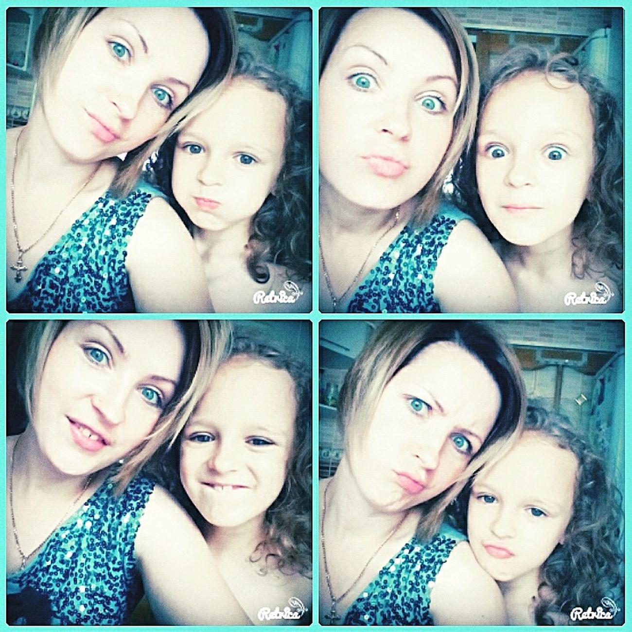 My Love❤ My Doughter Nice Day Girls MyGIRL Happy Enjoying Life