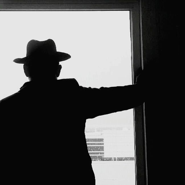 Film Noir Selfportrait JackVettriano Detective Guadalajara Jalisco Mexico Autoretrato Noir Noir Et Blanc Black & White Blanco & Negro