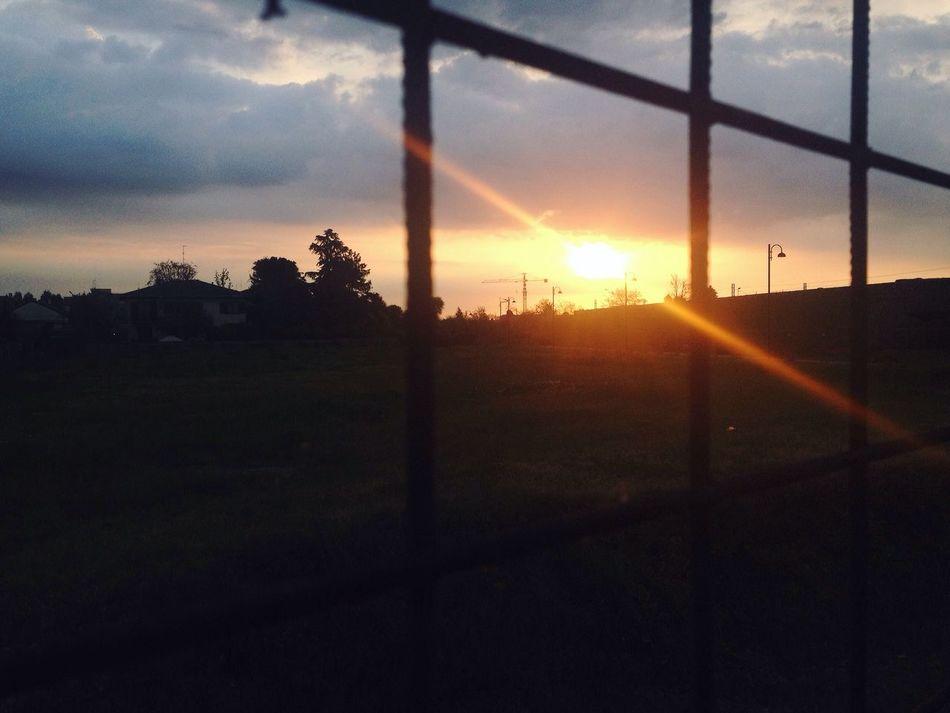 Sunset Sky Cielo Alba