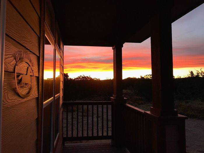 """""""Out My Front Porch"""" Sunrise in the glorious Central Highlands Of New Mexico. Home Front Porch New Mexico Photography New Mexico Skies New Mexico Dawn Early Morning Morning Light Morning Sunrise Porch Sky No People Nature Scenics"""
