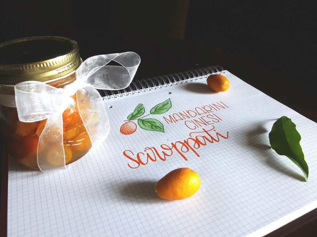 Text Paper No People Celebration Food Table Close-up Indoors  Kumquat Foodphotography Handwriting  Drawing Drawingtime Sketch Sketchbook Drinking Glass Pattern Marmalade Sessions Marmalade Foodporn Handmade Crafts CalligraphyPractice Typeverything